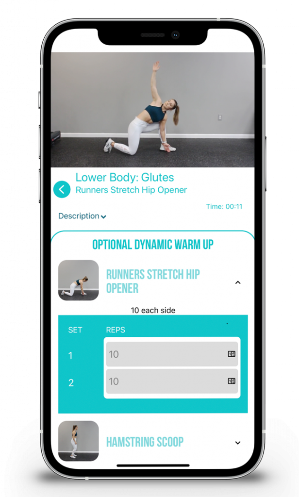 LEVEL EPP FIT APP SCREENSHOT